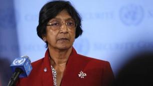 Navi Pllay - UN High Commissioner of Hatemongering. (Photo credit: UN Photo/Devra Berkowitz)