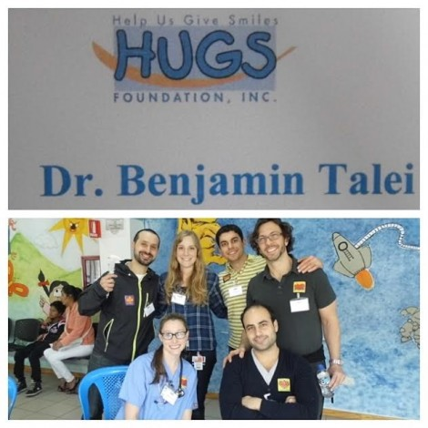 Dr. Talei on the HUGS (Help Us Give Smiles) mission to Quito, Ecuador