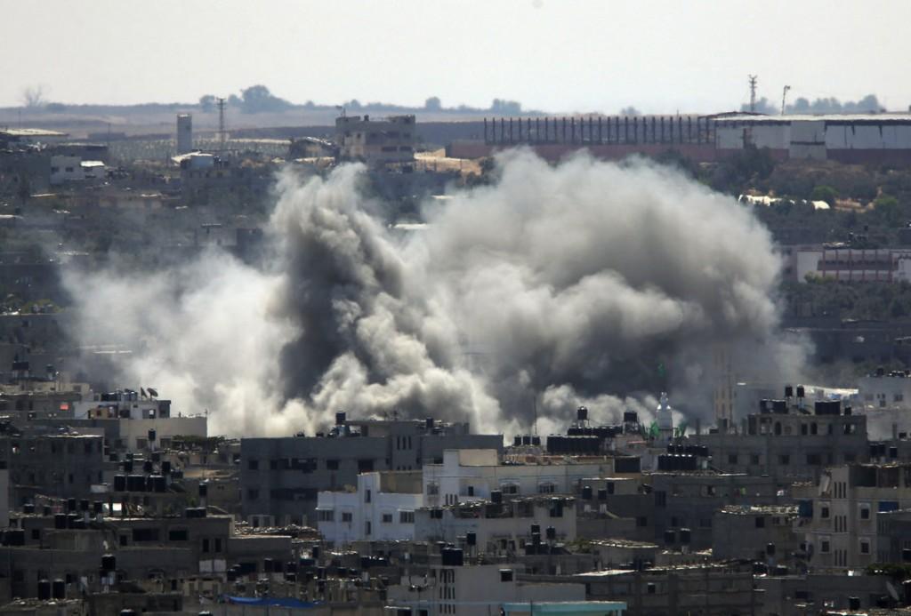 Ceasefire is over-photo Lefteris Pitarakis-AP