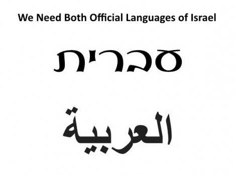 Fear and Weakness Underlie the Proposed Law to Demote Arabic to a Secondary Language  Read more: Fear and Weakness Underlie the Proposed Law to Demote Arabic to a Secondary Language in Israel