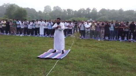 ISIS - Islamic State related religious ceremony in Istanbul, in Turkey