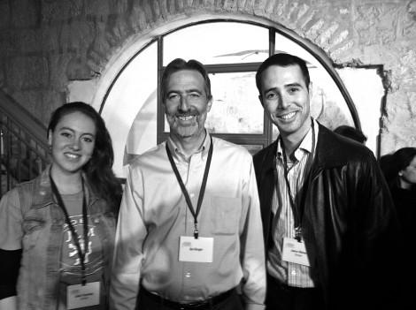 Bizrael co-founder, Jason Weiss, and I ran into Saul Singer at Jerusalem's J-Next event