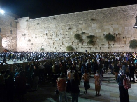 The Kotel at Selichot