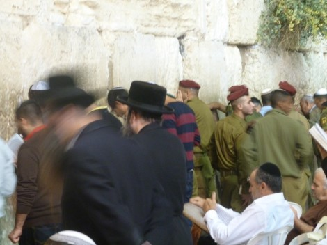 Selichot at the Kotel is just another place where we see the lines that must be bridged.