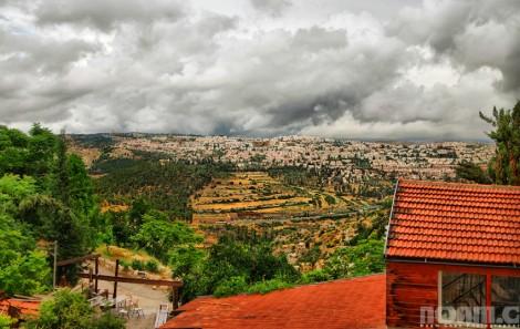 jerusalem hills view israel