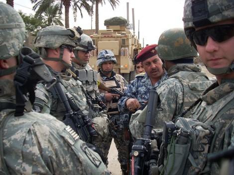 U.S.Soldierspreparing to Relieve Kurdish Forces in Iraq.