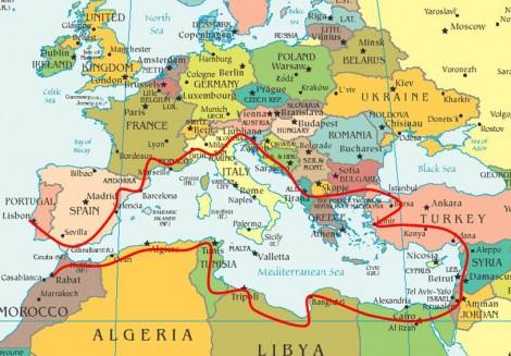 Mediterranean Express - Scheme by R. Meghiddo