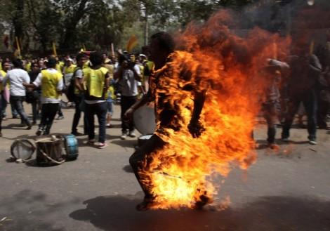 Tibetan Jampa Yeshi self-immolation