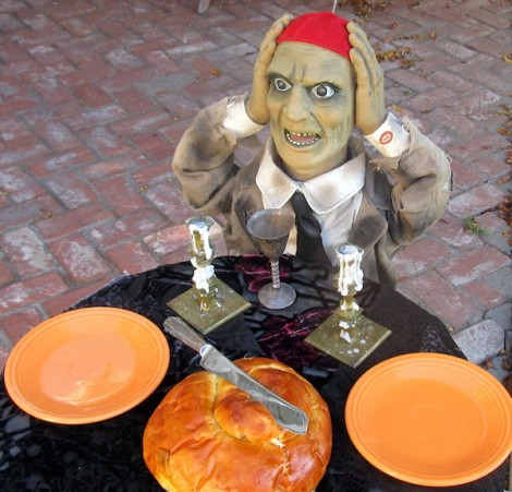 There's no masking it, some Jews are spooked about joining the Halloween celebration on Shabbat. (Photo: Edmon J. Rodman)