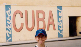 In 2003, pictured above I visited Cuba under a Humanitarian Visa to provide assistance to the Jewish Community in Havana.