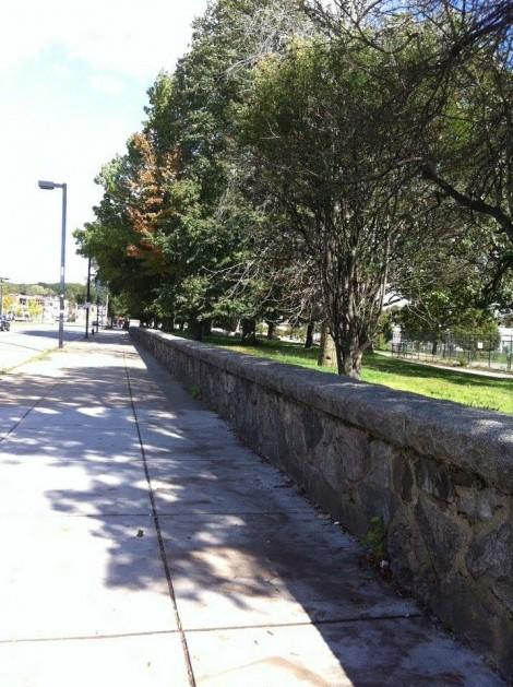 Franklin Field Wall