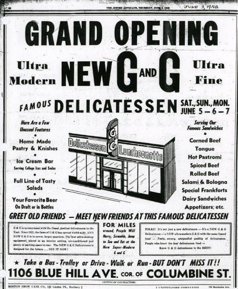 G&G ad