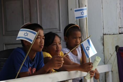 Bnei Menashe children. Photo: Laura Ben-David