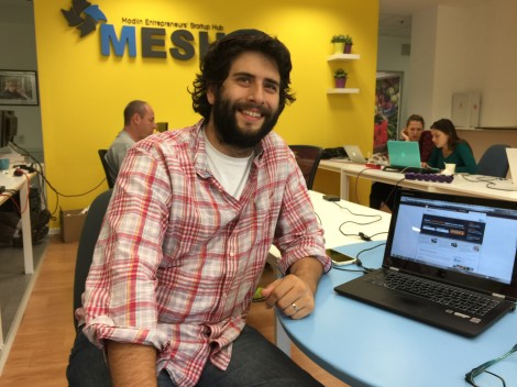 Meet Menachem Pritzker, Founder of  HomeFixers.com - he bikes to work, runs home to help with the kids and then back to work - an no commute.