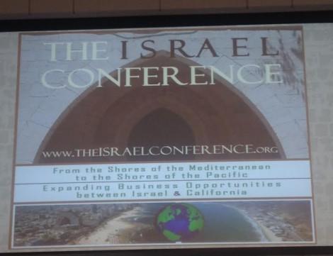 Israel Conference Banner-Photo Nurit Greenger