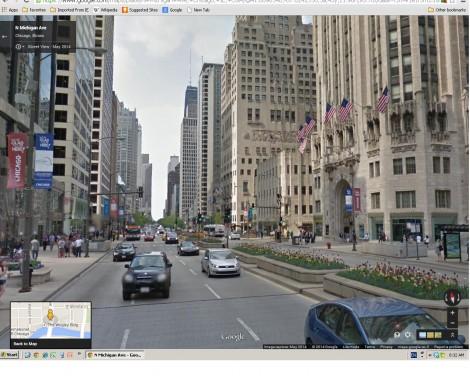 N. Michigan Ave. (Google Street View)
