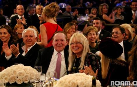 Miriam and Sheldon Adelson-Photo Noam Chen