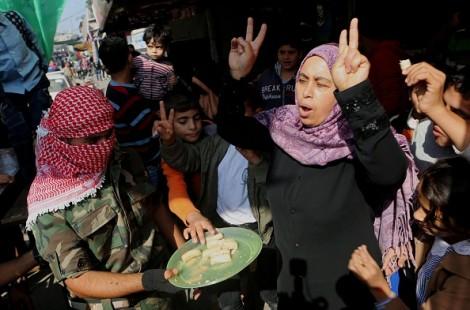 arabs celebrate terror