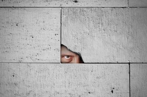 menacing voyeur