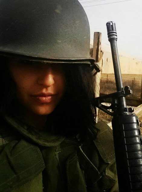Anabelle Tam serving in the IDF.