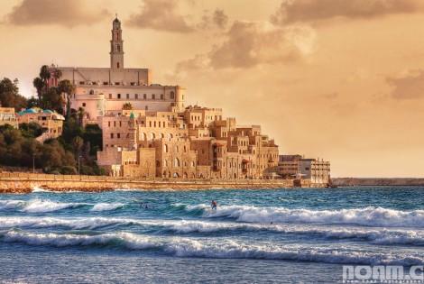 jaffa old city and beach Israel