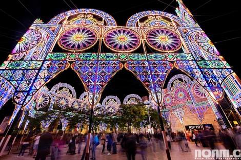 Jerusalem's Festival of Light jaffa gate