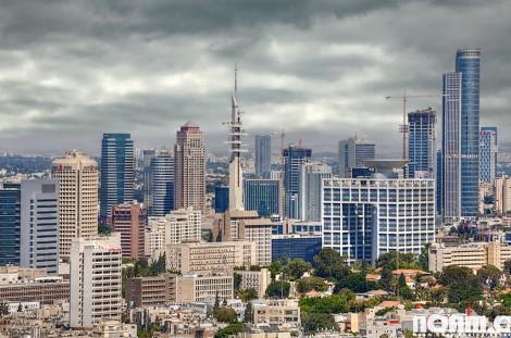 tel aviv israel urban landscape
