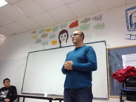 Amir, speaking in Barta'a