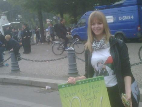 Nie Wieder Judenhass demonstration - Berlin
