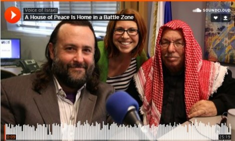 Jerusalem PeaceMakers Eliyahu McLean and Haj Ibrahim