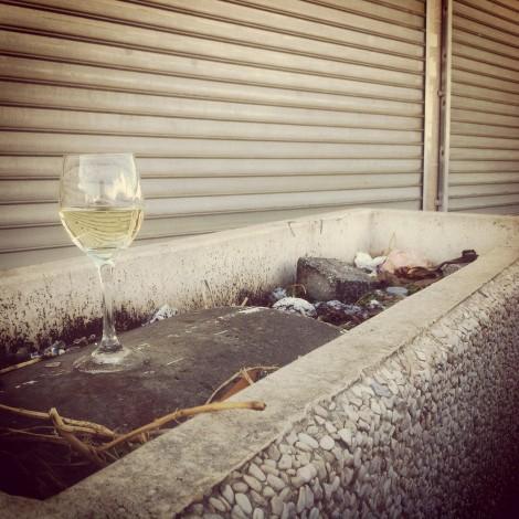 Free wine in Or Yehuda