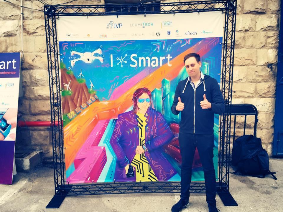 Nir Kouris at the ISmart (Photo credit: Nir Kouris)