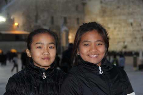 Middle school girls - Photo credit: Laura Ben-David