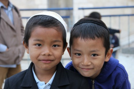 Children in the Old City of Jerusalem for the first time - Photo credit: Laura Ben-David