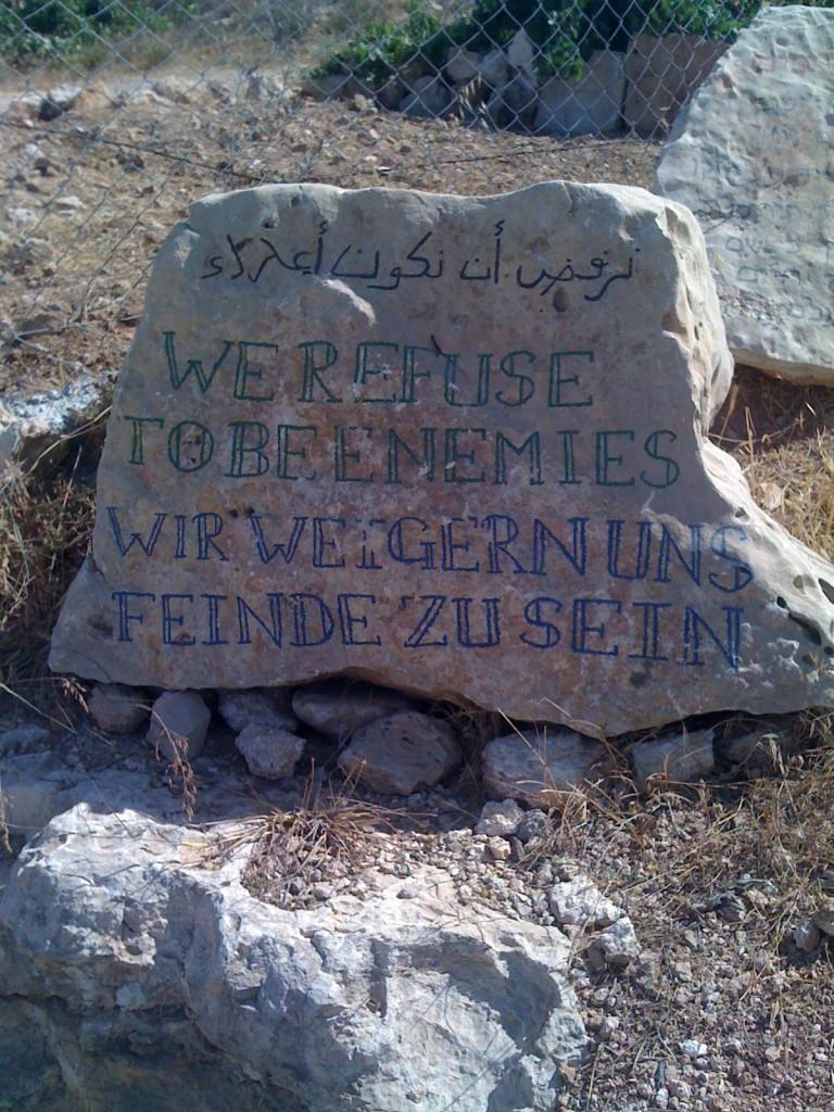 """""""We refuse to be enemies"""""""