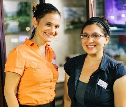 Naava Shafner (left) and Cori Widen (right) (Rebbecca Sigala Photography)