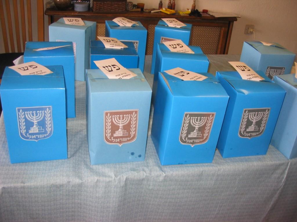 Purm ballot boxes
