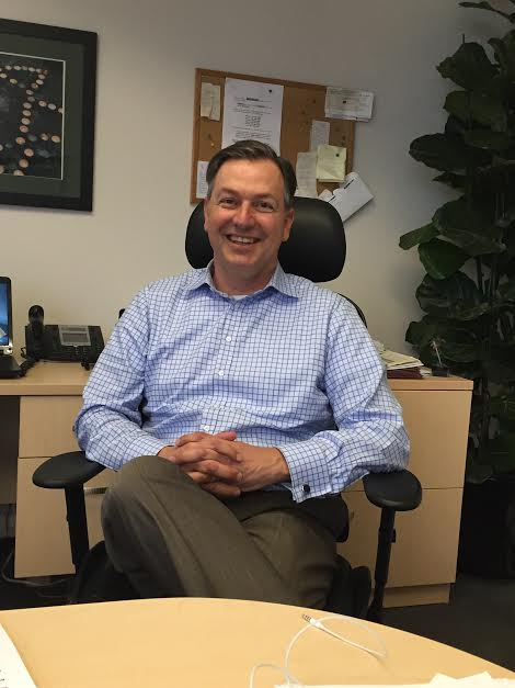 Barak Lurie in his office