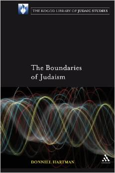 Boundaries of Judaism by Donniel Hartman cover
