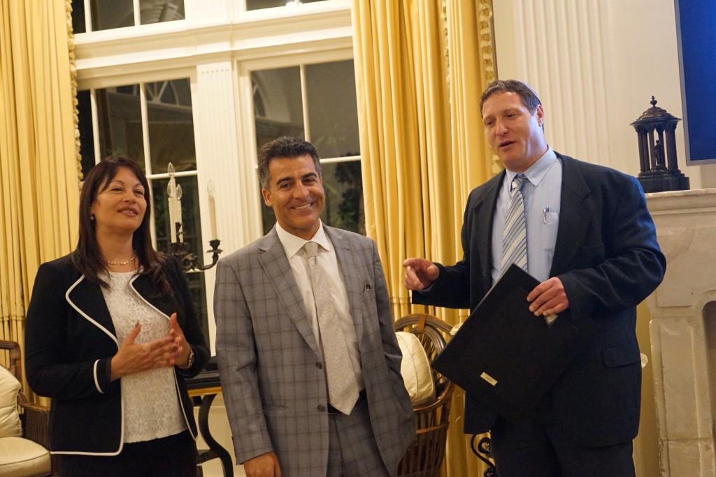 L-Edva Shafir, Gal Ben-Naim, Eli Shafir-Photo Orly Halevy