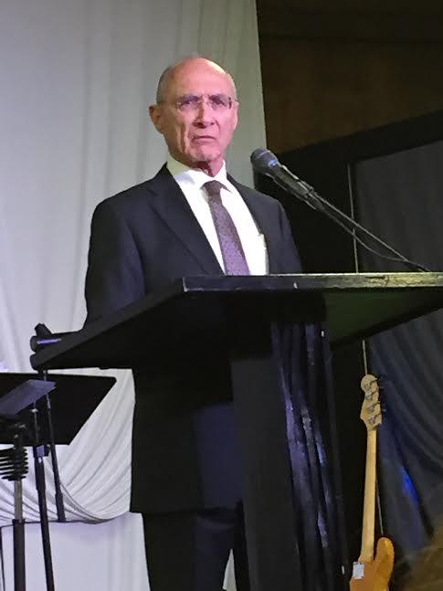 Dr. Uzi Landau speaking
