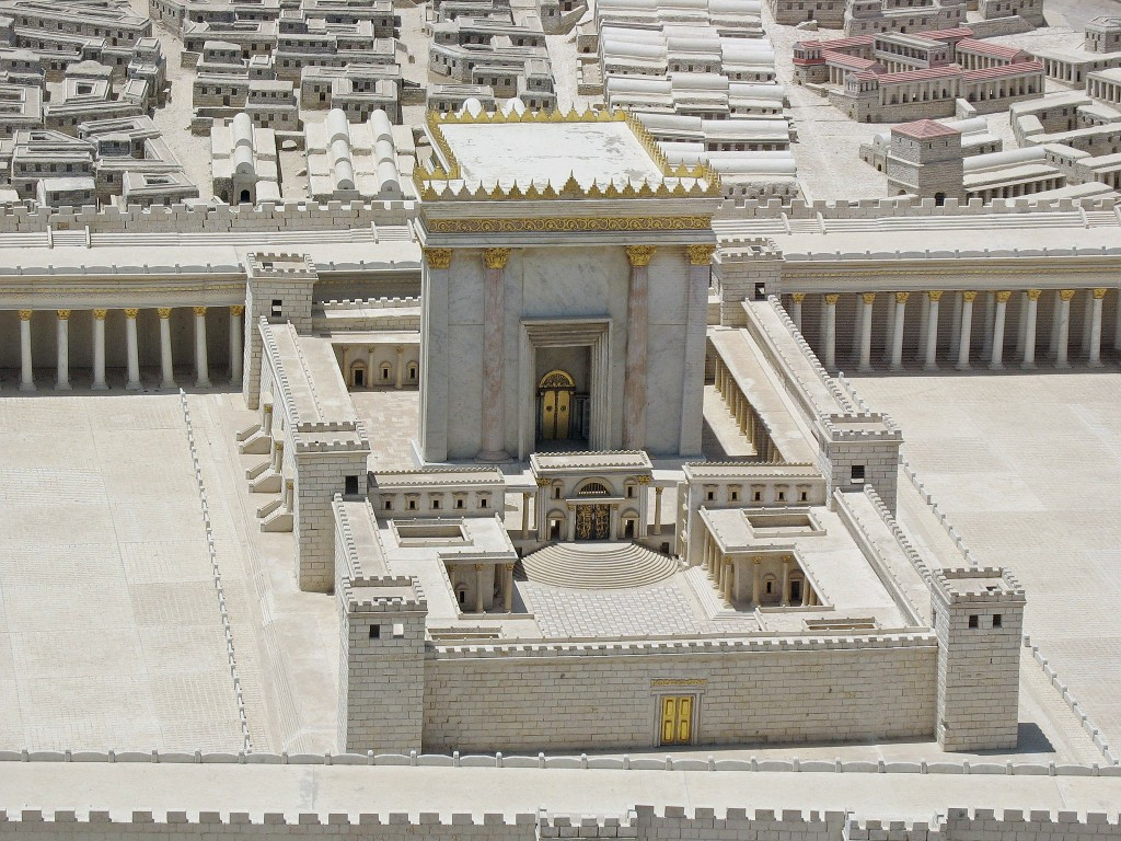 model of Holy Temple (Second)