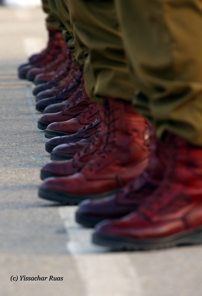 Paratrooper trademark red boots