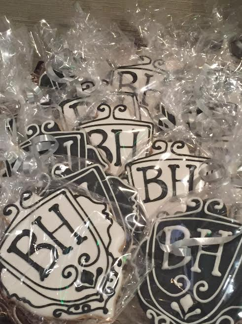 Branded cookies offered at Dr. Ben Talei's Beverly Hills Center for Plastic & Laser Surgery