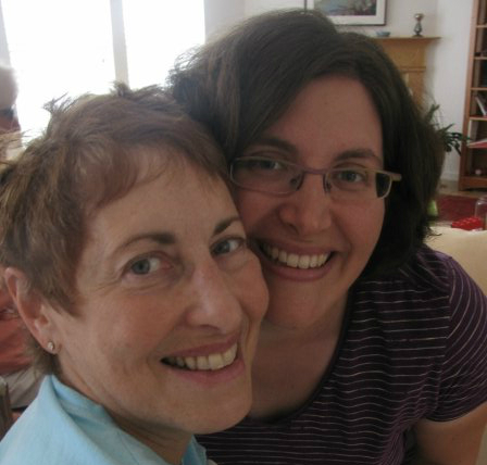 Mom Audrey Borschel and me in August 2009, days after a surgery and learning about the stage IV breast cancer that would claim her life five years later. (Ingrid Bellman)