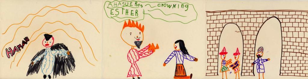 Purim pictures strip