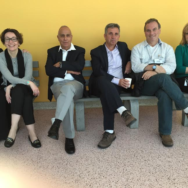 Some of Israel Antiquities Authority team, 2nd from L Dr. Uzi Dahari, Deputy Director for Archeology-Photo Nurit Greenger