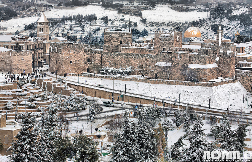 jerusalem-old-city-snowfall