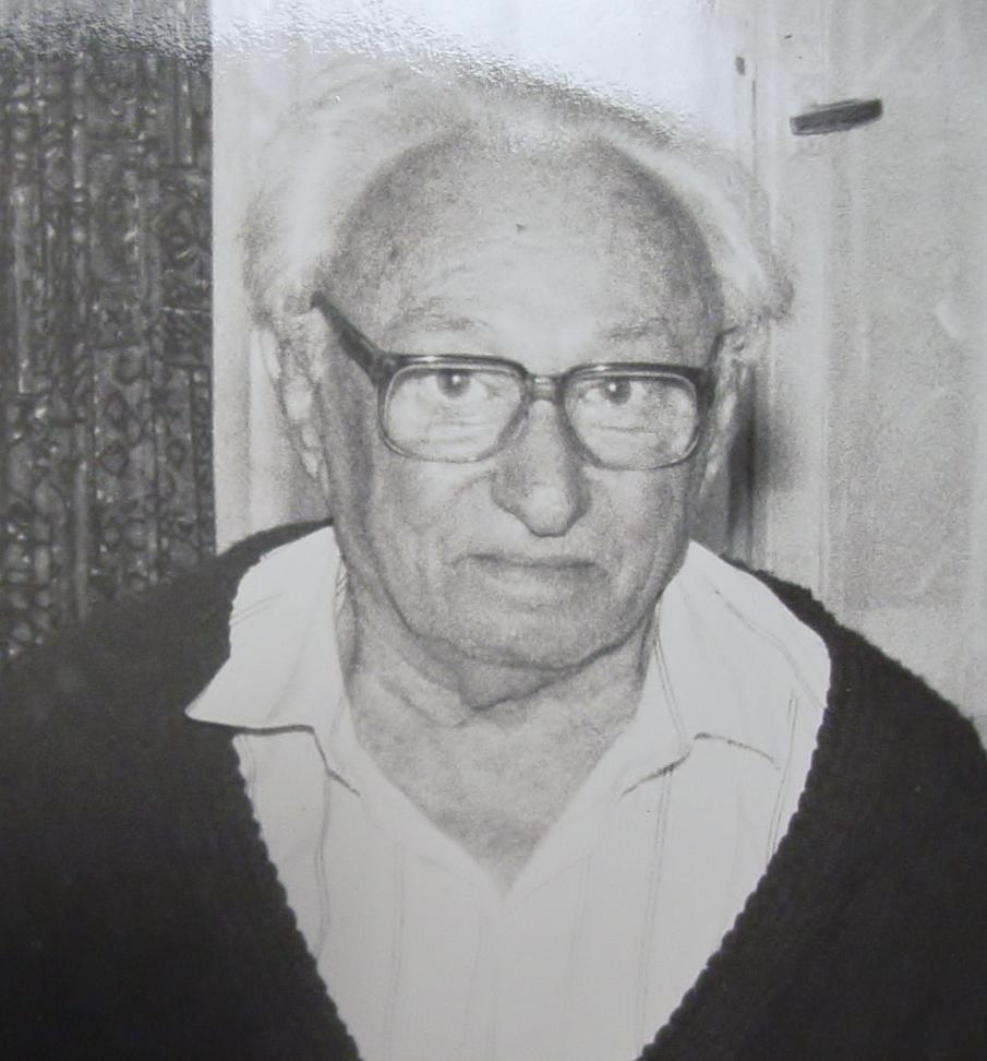 Dr. Israel Eldad, Jerusalem, 1993 Photo by Joanna M. Saidel