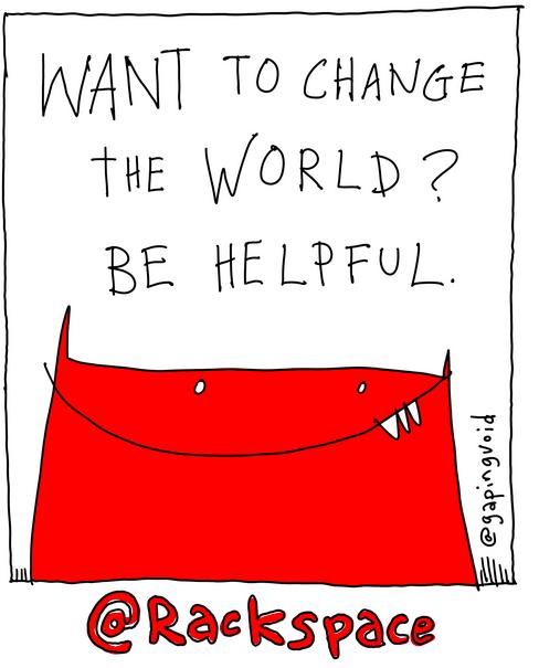 Change the world. Be Helpful